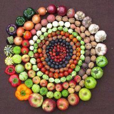 wheel of life - by organic farming