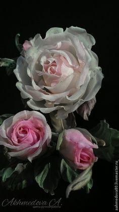 """Комплект с Брошью и заколкой для волос  """" Любовь"""".    #handmade #handmade_accessories #accessories #ручная_работа #цветы_из_шелка #брошь #цветы #украшения #розы #цветы_из_ткани #цветы_на_заказ #цветы_ручной_работы #flower_khv #akhmedova_a #silk_flowers #хабаровск"""