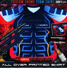Clothing: Custom shirts, Custom cool, unique and AWESOME T-shirts by an innovative online design service , Stand out the crowd with Team Shirts, Sports Shirts, Thors Hammer, Shirt Print, Cricket, Cool T Shirts, Printed Shirts, Custom Shirts, South Africa