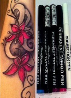 Stargazer Tattoo pen drawing #tattooforaweek #t4aw #tattoopens #stargazer