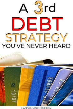 A Third Debt Payoff Strategy that no one is talking about - Got debt? The snowball and avalanche are not your only options! Here's a effective method. Money Saving Challenge, Money Saving Tips, Saving Ideas, Frugal Living Tips, Frugal Tips, Making A Budget, Debt Payoff, Debt Repayment, Financial Tips