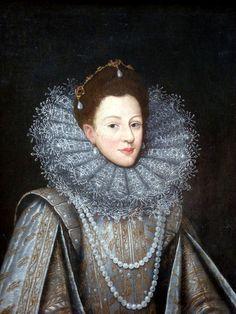 ab. 1608 Frans Pourbus II - Margherita di Savoia