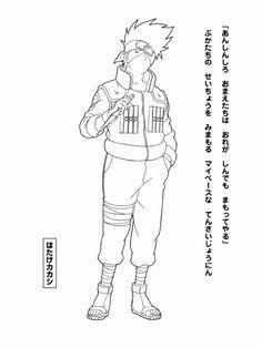 Naru26 Gif 600 800 Coloring Pages Pinterest Anime Dibujos
