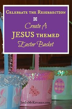 50 junk free easter basket ideas oh lardy spring favorites celebrate the resurrection with a jesus themed easter basket free printable verse cards correspond to fun memorable items that represent jesus negle Gallery