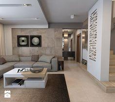 Aranżacje wnętrz - Salon: parter domu jednorodzinnego - Salon, styl nowoczesny - A2 STUDIO pracownia architektury. Przeglądaj, dodawaj i zapisuj najlepsze zdjęcia, pomysły i inspiracje designerskie. W bazie mamy już prawie milion fotografii!