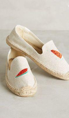 embroidered summer espadrilles