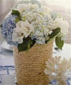 Nautical Wedding Ideas: wedding centerpiece