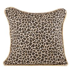 Leopard Pillow Cover 18 x 18