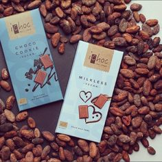 iChoc Milkless & Choco Cookie #veganchocolate #ichoc