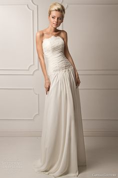 Capelli Couture 2013 Bridal Collection - Laura Strapless Wedding Dress