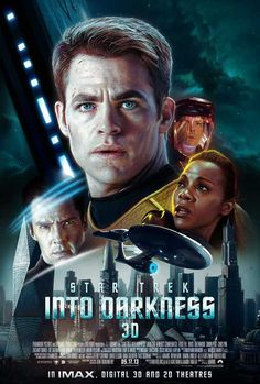 Star Trek Into Darkness (2013) - Synopsis: After the crew of the Enterprise find an unstoppable force of terror from within their own organization, Captain Kirk leads a manhunt to a war-zone world to capture a one man weapon of mass destruction.