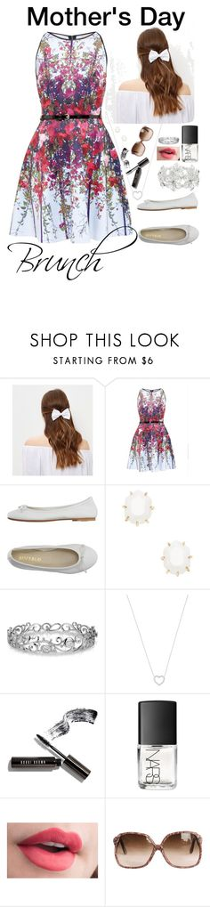 """Mother's Day Brunch"" by haleigh0705 ❤ liked on Polyvore featuring New Look, Ted Baker, DIENNEG, Kendra Scott, Effy Jewelry, Tiffany & Co., Bobbi Brown Cosmetics, NARS Cosmetics and M&Co"