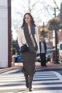 Sweater & Midi-skirt