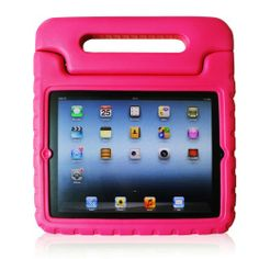 Apple iPad Air / iPad 5 Kiddie Series Light Weight Shock Proof Convertible Handle Stand Cover Case Kids Friendly-Rose Brand new high quality ,Super Sturdy Light Weight Protection Case for Kids.. Constructed from impact-resistant polycarbonate and double-enforced with a shock absorbing silicone inner-sleeve.. Provides full protection with water resistance.Corrosion resistance,shockproof and other d... #JIA8SHOP #PCAccessory