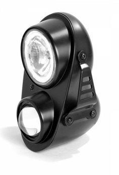 Hesa Fire Headlight - Stacked Headlight - Streetfighter Headlight