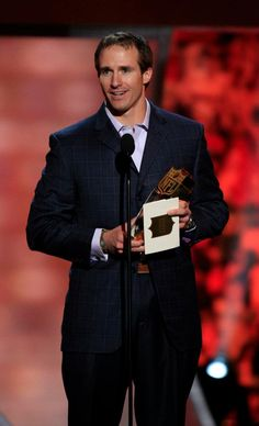 Offensive Player of the Year Award goes to Drew Brees!