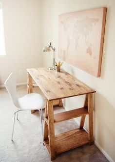 Attractive Sawhorse Worktable Design for Home Furniture Ideas