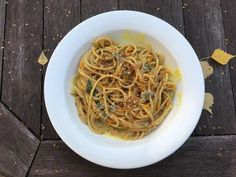 Pasta, Spaghetti, Ethnic Recipes, Food, Essen, Meals, Yemek, Noodle, Eten