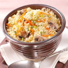 Jazz up plain couscous with a few added ingredients and it becomes a side dish special enough for guests.