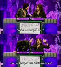Noel Fielding and Russell Brand - Big Fat Quiz of the Year