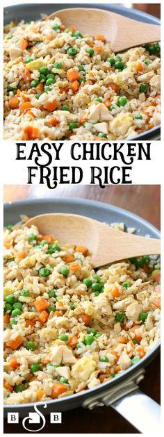 Fry breast chicken