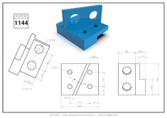 3D CAD EXERCISES 1144 - STUDYCADCAM Autocad, Exercises, 3d, Drawings, Blog, Exercise Routines, Excercise, Sketches, Blogging