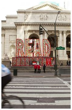 It Looks Just Like the Rendering: Target Read Across America David Stark, New York Public Library, Experiential, Libraries, Big Ben, Target, America, Reading, Building