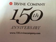Irvine Company Turns 150 This Year. http://150.irvinecompany.com/ #IrvineHome #IrvineLiving #RealEstate #InternationalHome  ¯\(ツ)/¯ http://www.IrvineHomeBlog.com