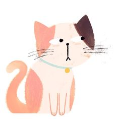 Side eye cat Working on animals for my portfolio! #art #artist #instaart #artwork #illustration #childrensillustration #digitalart #kidlitart #drawing #painting #doodle #sketch #animal #cat #ねこ #character #photoshop #cute