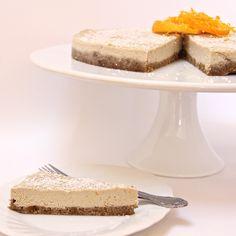 Lucuma & Citrus Cheesecake