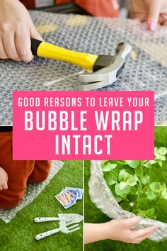 Everyone's favorite packing material can help you solve a surprising number of everyday problems! Hack My Life, Bubble Wrap, Fun To Be One, Recycling, Household, About Me Blog, Diy Projects, Good Things, Canning