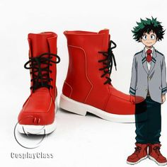 My Hero Academia Midoriya Izuku Cosplay Shoes – CosplayClass  #MyHeroAcademia #MidoriyaIzukuCosplay #Shoes