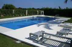 Tarima Exterior Tecnológica - Parkhouse Studio #tarima #piscina #exteriores