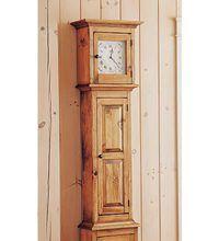 Grandfather Clock Gun Safe Closed Emergency