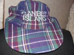 Vintage hat Sanibel Island by SummersBreeze on Etsy
