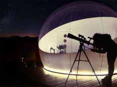 Hotel burbuja Mil estrellas. Girona