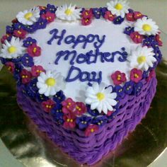Second mothers day cake