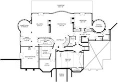 Ashburton House Plan - Best Selling Floor - House Plan - Ashburton House Plan   Basement Floor Plan