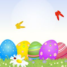 Easter Eggs, Html, E Cards, Happy Easter