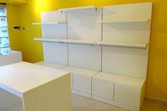 fabrica de muebles Islas para local de ropa Percheros
