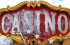 "classic sign. obviously we don't want any ""casino"" idea but i like the style and colors"