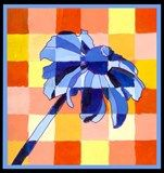Artsonia Art Exhibit :: Block Paintings from the Garden - analagous tints and shades