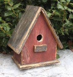 Birdhouses,Pine Birdhouses,Primitive Birdhouses,country birdhouses, rusty star birdhouses,Rustic Birdhouses
