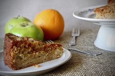 Autumnal Apple Cake – The Baking Nutritionist Healthy Baking, Healthy Recipes, Lunches And Dinners, Meals, Apple Cake, Healthy Living Tips, Autumnal, Baked Goods, Banana Bread