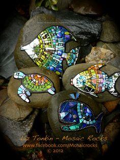 Liz Tonkin Mosaic Rocks Kuranda Australia www.facebook.com/...