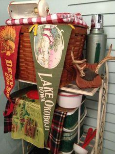 Decorating on the vintage camp theme | Nest Vintage Modern
