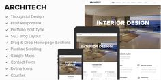 Architect – Clean & Beautiful WP Theme, Great for Businesses & Blogs
