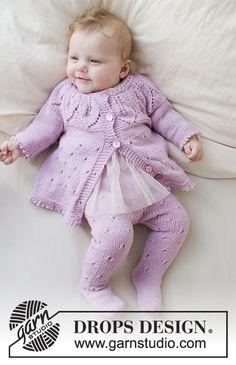 Pink Petals / DROPS Baby 33-13 - Modèles tricot gratuits de DROPS Design