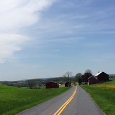 Beautiful Amish PA countryside. Great for road cycling. #livethefuel