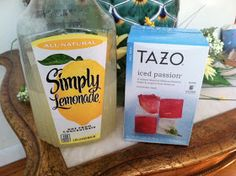 Passion Tea Lemonade Starbucks recipe